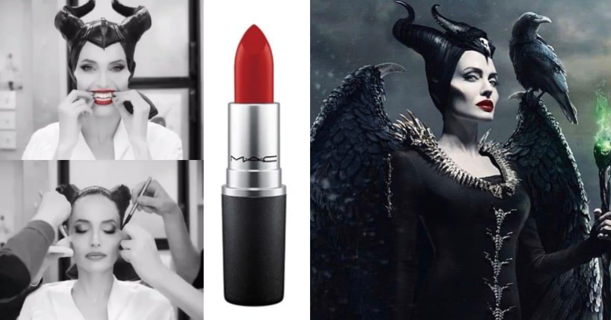 《黑魔女2》安潔莉娜裘莉後台妝容大揭密!超狂修容、氣勢紅唇色號看這篇