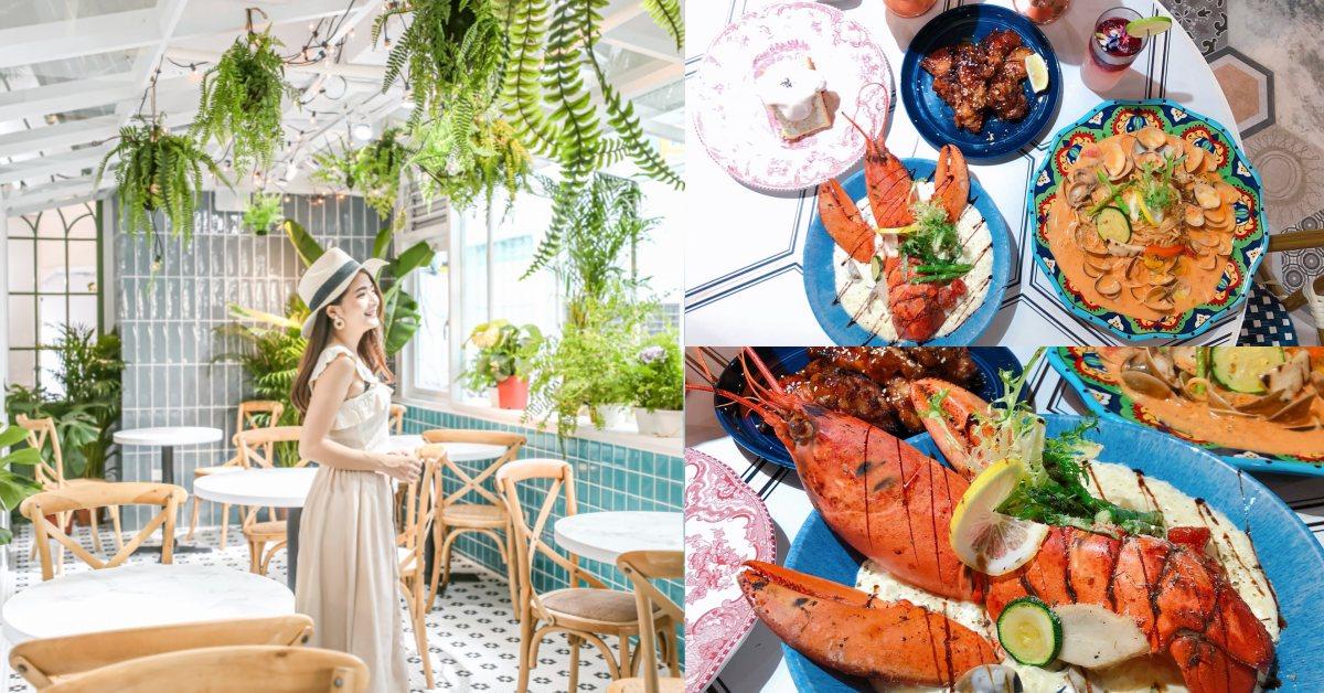 台中必去森林系餐廳《JAI宅》台北西門首店開幕!推薦波士頓龍蝦、爆醬蛤蜊
