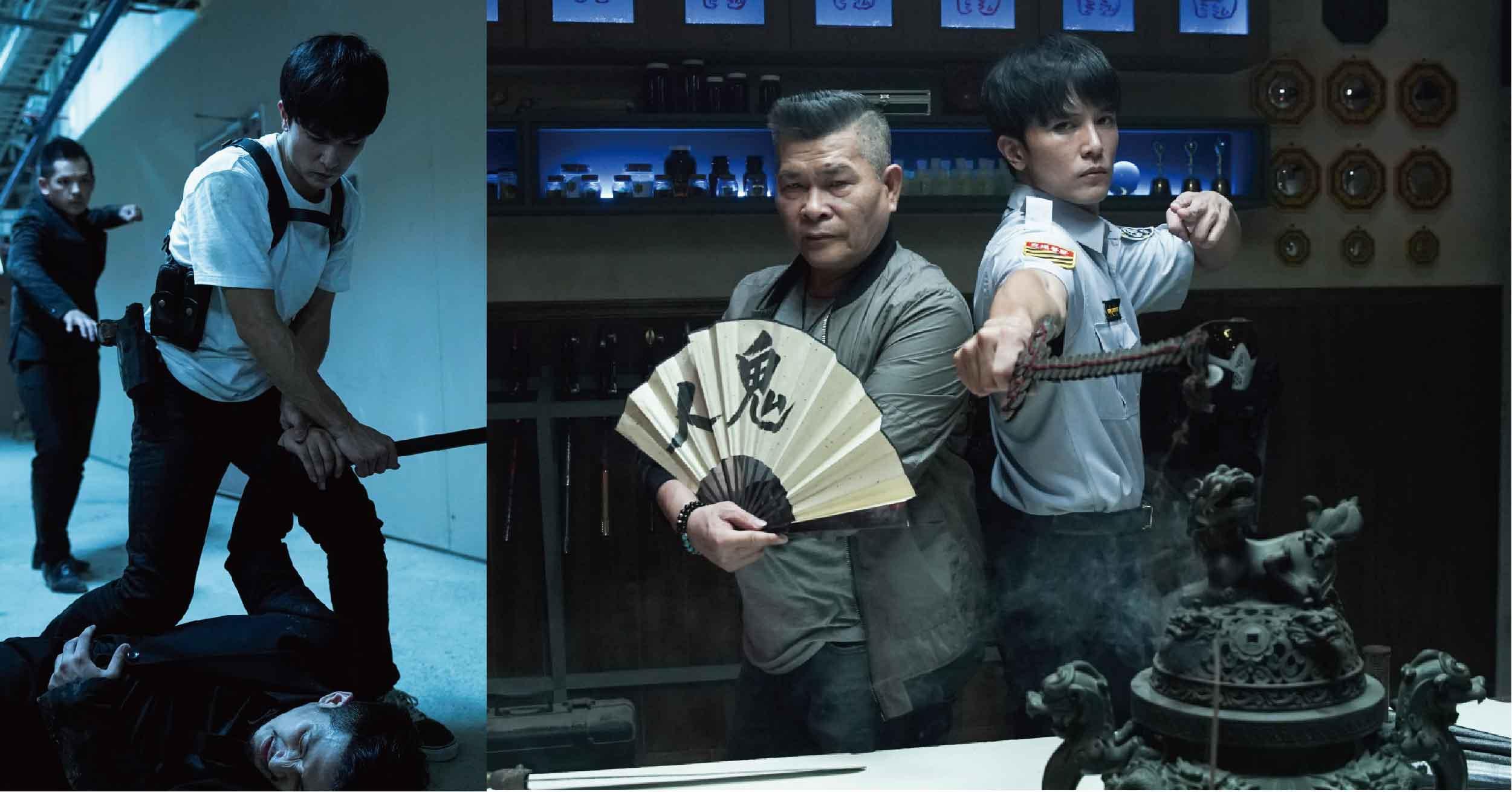 邱澤零替身演出《第九分局》!從早打到晚通靈辦靈異案件,自曝:「我很怕阿飄」
