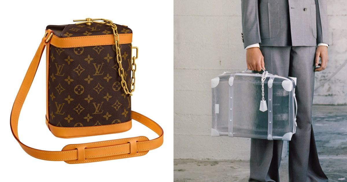 LV這款男包連女生都瘋搶!老花配色的「牛奶盒」、「透明行李箱」超吸睛又可愛