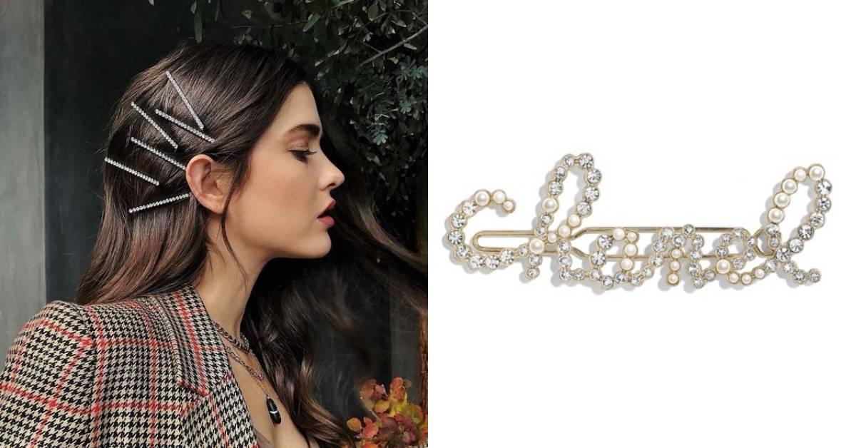 Chanel、Dior到Gucci都推出老奶奶髮夾!韓妞超愛的復古風潮說來就來!