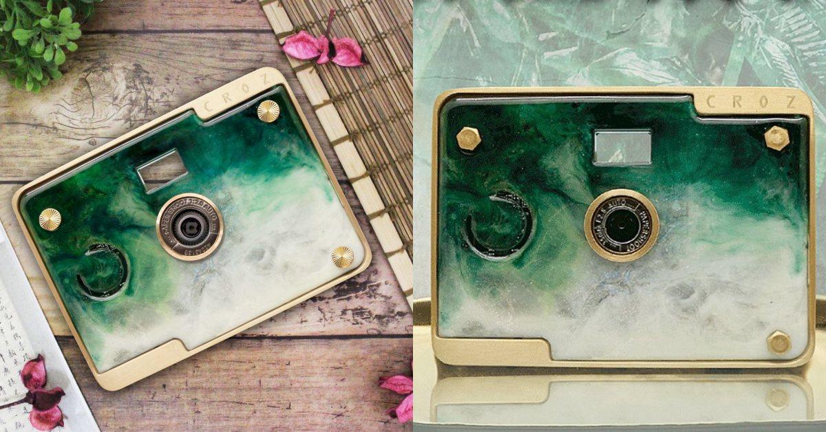 故宮推夜幕綠周邊「翠玉白菜相機」!4款LOMO濾鏡、絕美質感2019必收這台