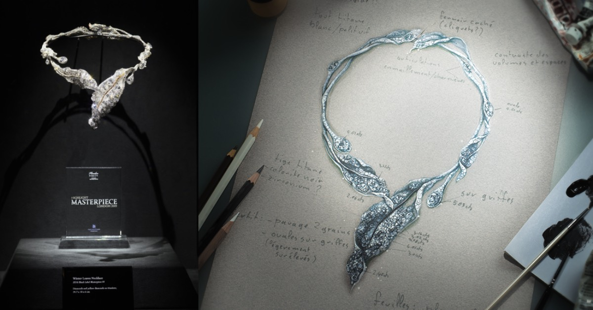 台灣珠寶揚名國際!CINDY CHAO用珠寶征服倫敦大師傑作展,獲最佳傑出珠寶作品
