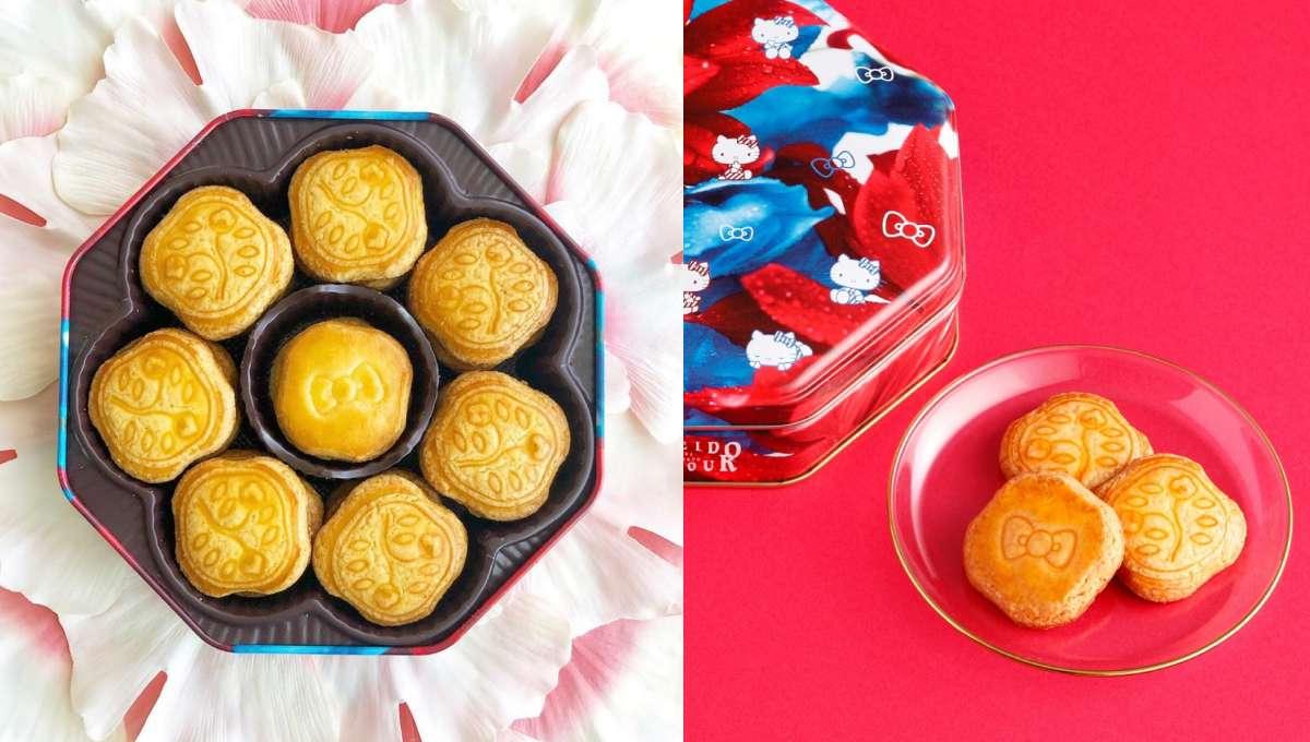 《資生堂》聯名「Hello Kitty X 蜷川實花」!最強限定款「花椿餅乾」台北開賣,品牌鐵粉必收!