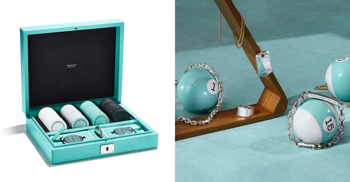 Tiffany & Co.的「玩具」奢華上市!讓女孩瘋狂的撞球組、撲克牌等你來收藏