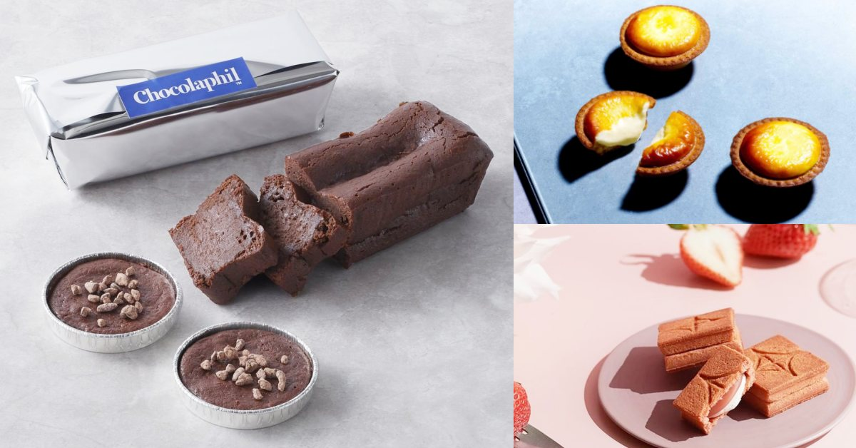 甜點快閃「BAKE WORKS」4大日本人氣甜點登場:BAKE CHEESE TART、Chocolaphil、澎派令果