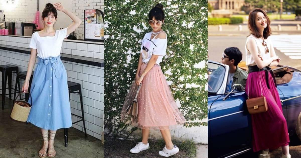 7 款日常長裙,打造仙氣飄飄的空靈感!