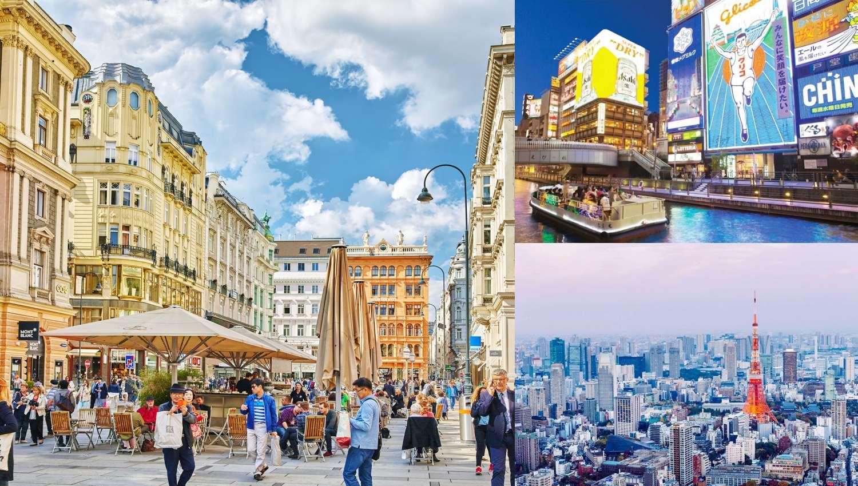 2019全球最宜居城市數據出爐!想移民的可以看!亞洲只有這個國家進榜