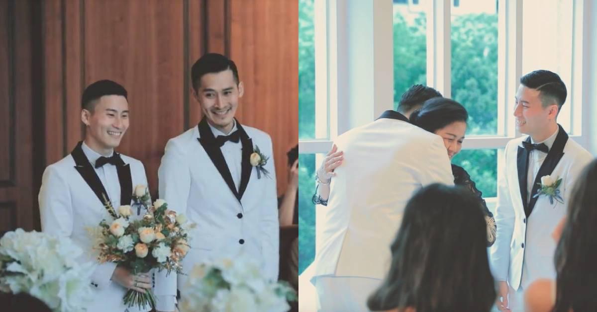 台灣第一對合法結婚的男生!「等了12年,在愛面前我們都一樣!」