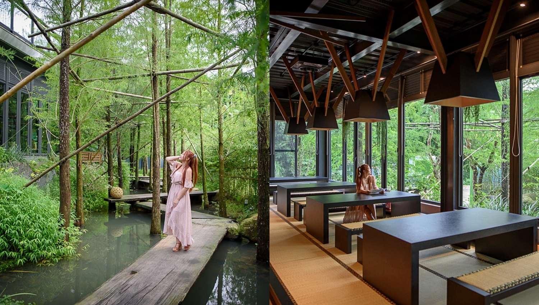 台中最秒殺記憶體的蔬食餐廳《澄石享自在》!懷石料理、木棧道落羽松秘境美景