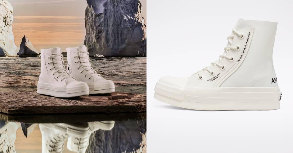 ConverseXAmbush小白鞋明日上架!厚底+防水,今年潮鞋就搶這一雙