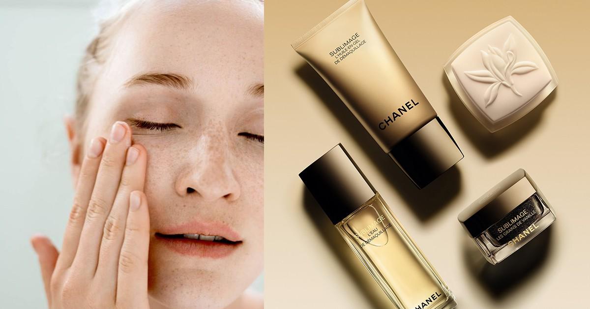 換季必備!4步驟卸妝還能排毒,香奈兒全新奢華金燦清潔系列推薦