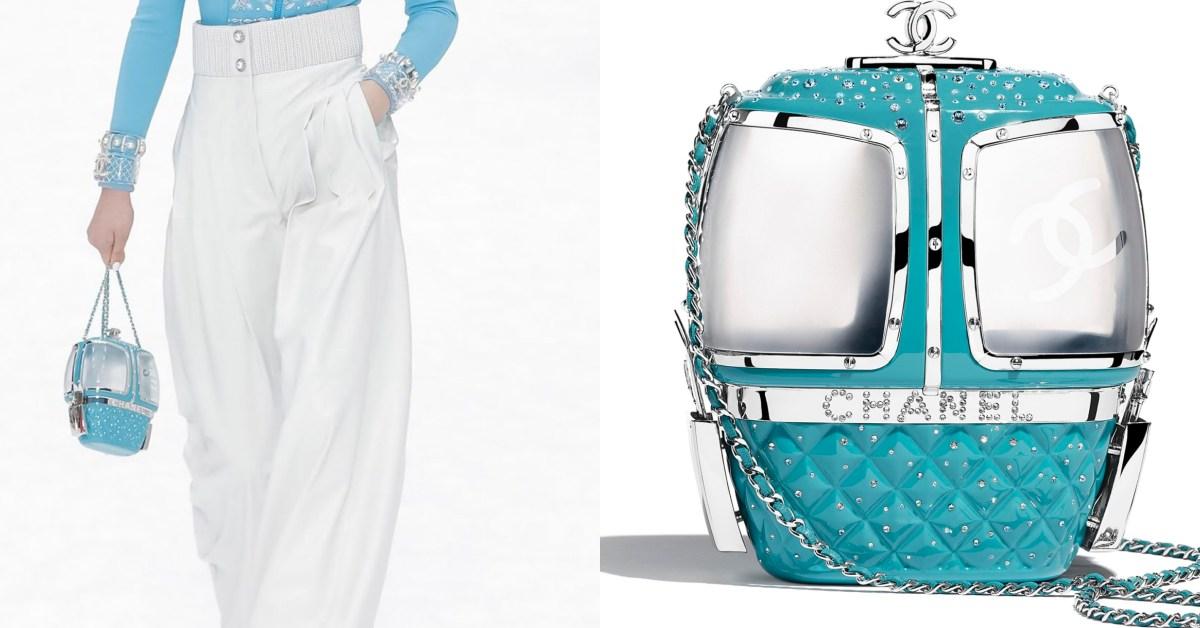 老佛爺最後作品!Chanel「纜車包」登場,純白與湖水綠設計小香迷必買