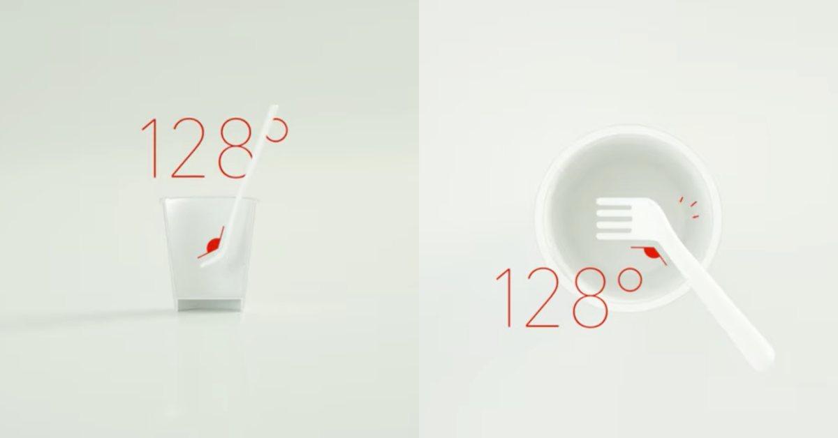 地表最強杯麵專用叉!日清食品xNedo研發128度彎曲叉子,外國人吃麵再也不會掉滿地