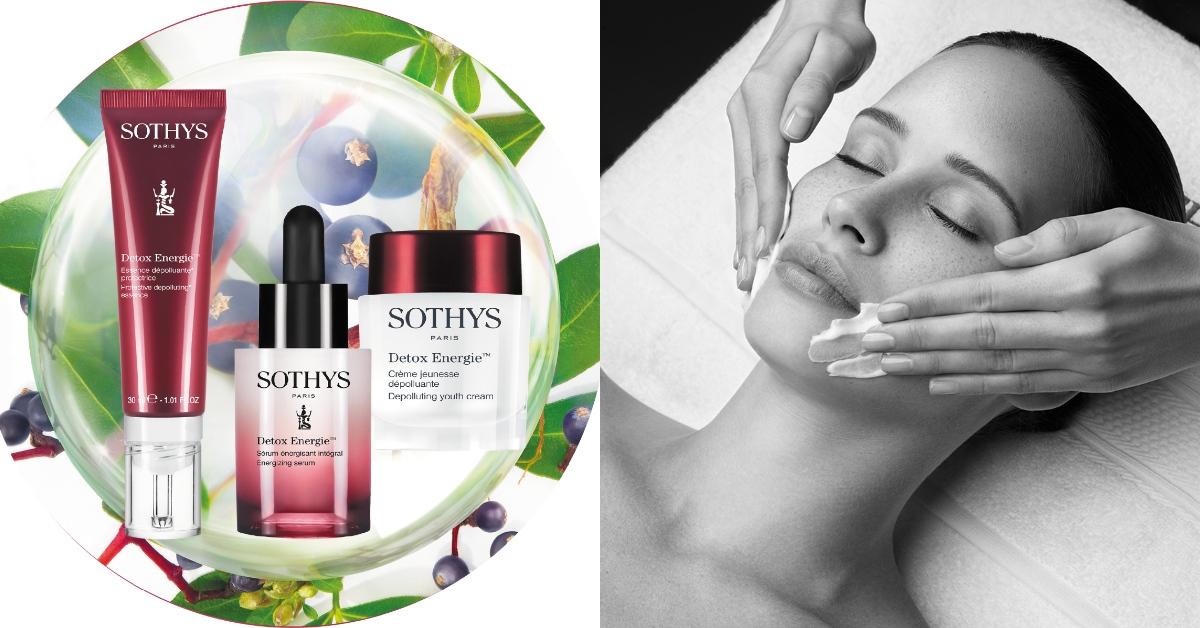 抗空汙必備!頂級法國保養品Sothys三大專利為肌膚蓋上一層隱形防護罩