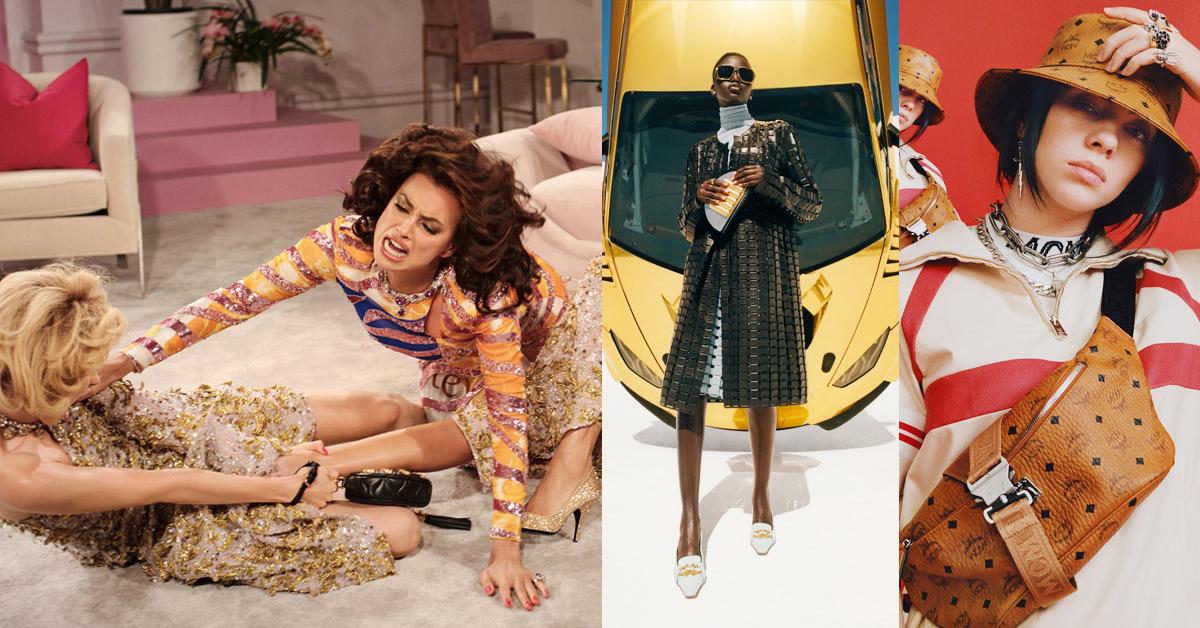 MCM找怪奇比莉、Moschino女模演八點檔撕逼秀!這些精品廣告不只比創意還比話題