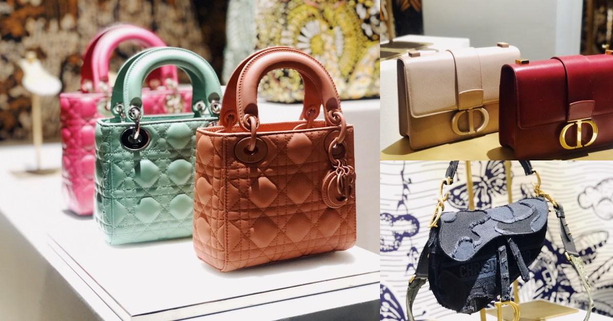 2019年Dior下半年必買包款推薦!奶茶色蒙田包、迷彩馬鞍包、馬卡龍黛妃包都好燒