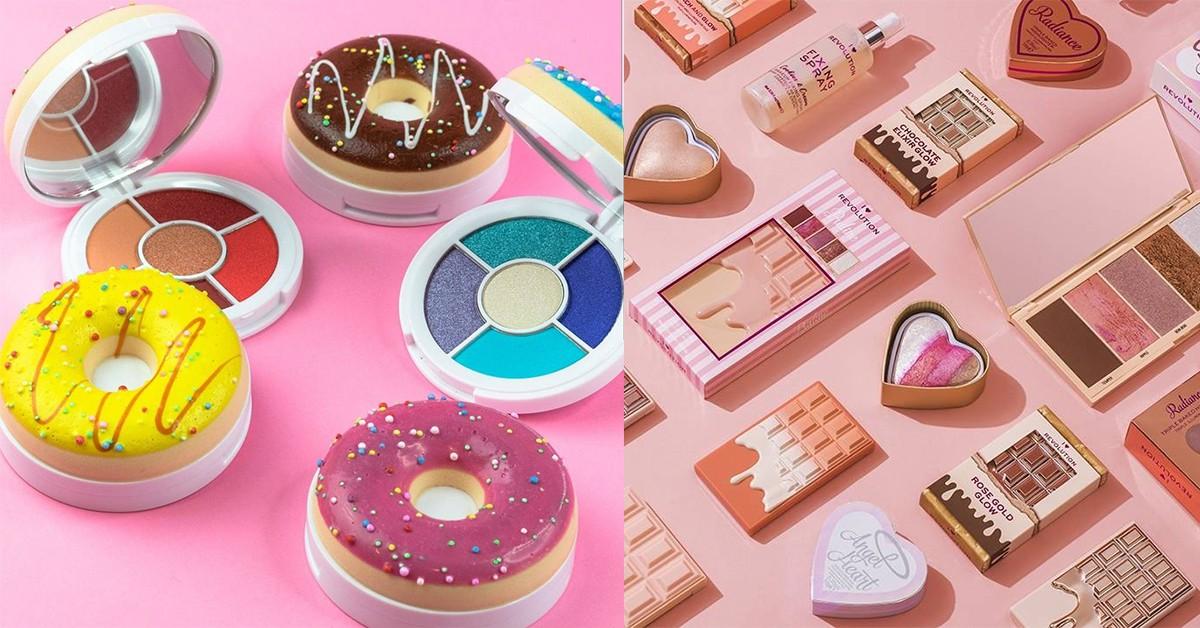 這眼影盤可以吃?歐美超夯巧克力眼彩盤,連甜甜圈都成補妝盒可愛搶攻少女荷包