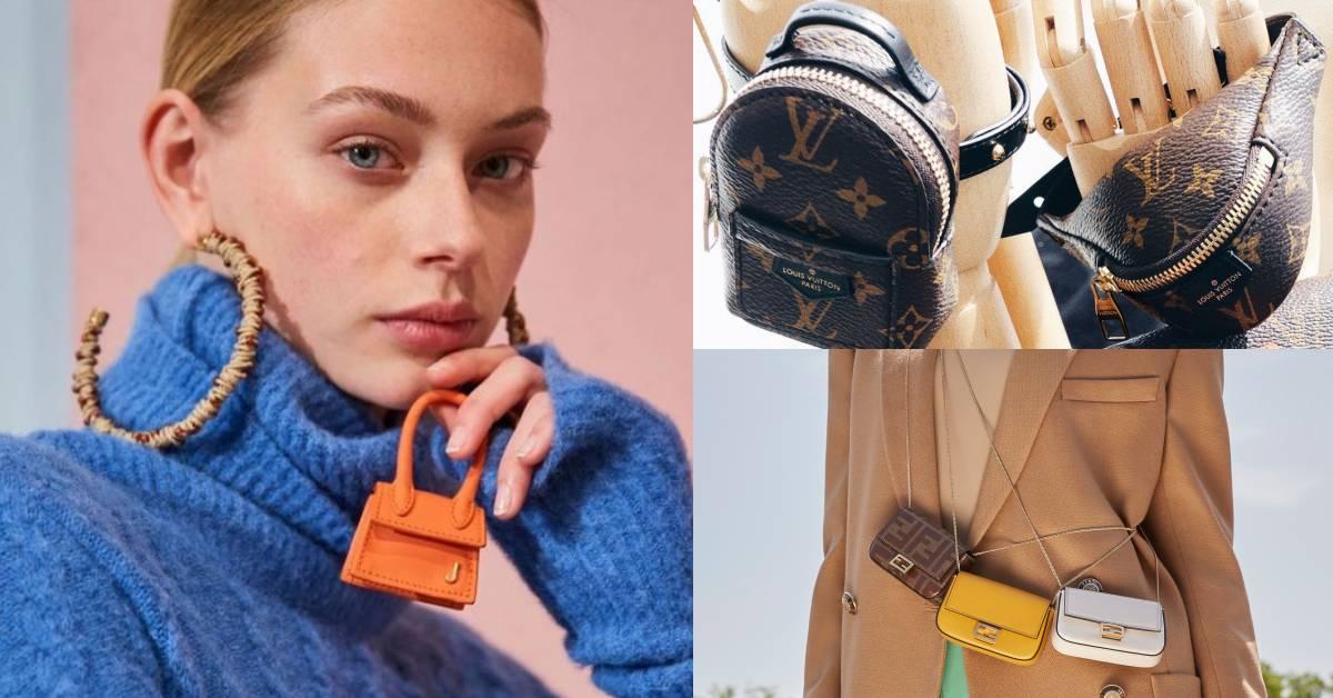 2019迷你包風潮燒起來了!LV、愛馬仕到Longchamp都推出只裝得下「時髦」的超小包款