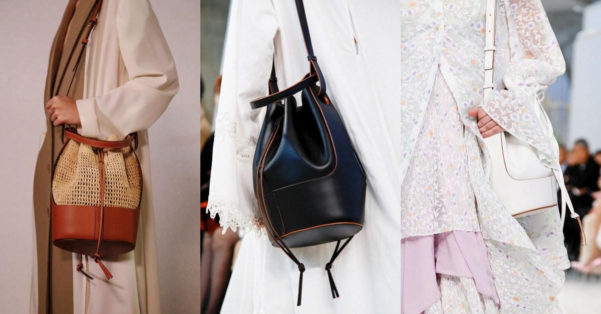 Loewe「氣球水桶包」超搶眼!2020年春夏IT Bag就是它?