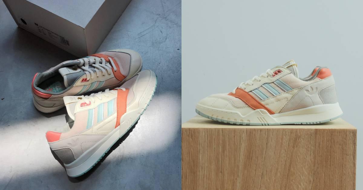 珊瑚橘配裸膚粉!adidas Originals超可愛聯名鞋款怎麼能不買?