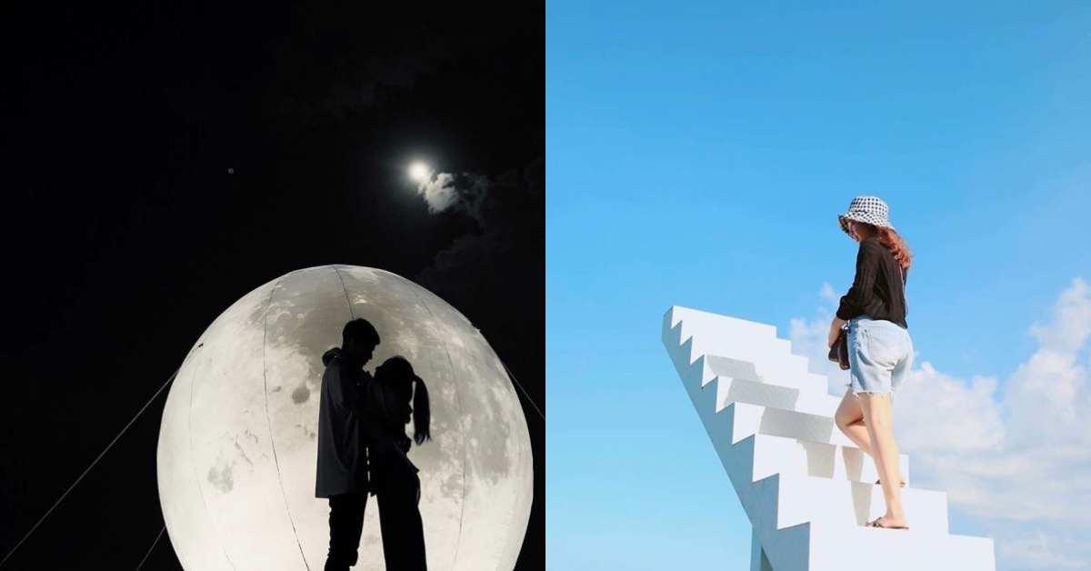 宜蘭《A.maze兔子迷宮》超大月亮成IG打卡新景點!還有飛天鞦韆、彩虹天梯5大亮點