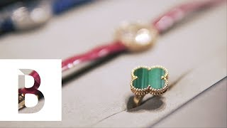 Van Cleef & Arpels 50th「Alhambra 幸運花園」 花絮